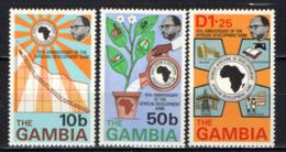 GAMBIA - 1975 - African Development Bank, 10th Anniv. - MNH - Gambia (1965-...)