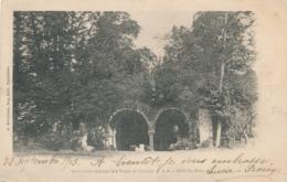 CPA Ancienne Abbaye Des VAUX De CERNAY  Coté Du Parc Circulée A. Bourdier - Vaux De Cernay