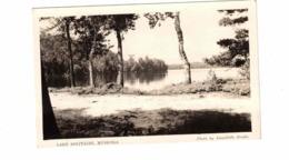 Muskoka, Ontario, Canada, Lake Solitaire, Old Road, 1945 Real Photo  AnnaBelle Postcard, Muskoka County - Muskoka
