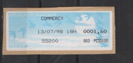 1998  Commercy - 1990 «Oiseaux De Jubert»