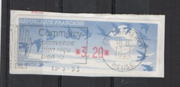 1993  Commercy - 1990 «Oiseaux De Jubert»