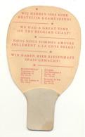 TOP !! Rare - Raquette De Ping-pong Publicitaire - Blankenberge, Oostende, Knokke - Jeu, Jouet, Sport,...(b269) - Advertising