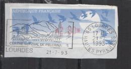 1993   Lourdes - 1990 «Oiseaux De Jubert»