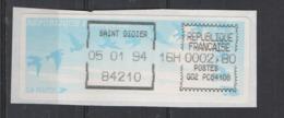 1994   Saint Didier - 1990 «Oiseaux De Jubert»