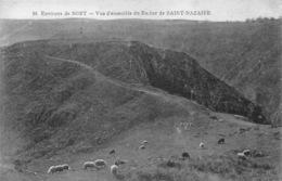 France 19  Le Corrèze   Bort  Vue D'ensemble Du Rocher De Saint-Nazaire     Barry 596 - Other Municipalities
