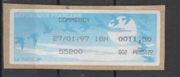 1997   Commercy - 1990 «Oiseaux De Jubert»