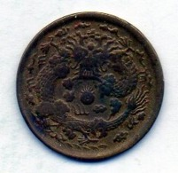 CHINA - FOO KIEN PROVINCE, 2 Cash, Brass, Year 1906, KM #8f - China