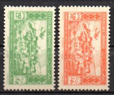Col17  Colonie Grand Liban PA  N° 85 & 86  Neuf X MH  Cote 14,60 € - Gross-Libanon (1924-1945)
