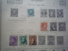 COLLECTION AMERIQUE Feuille Album Ancien - A Voir - 67 Scans - Stamps