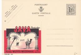 BELGIO - STORIA POSTALE NON VIAGGIATA - BELGIO - INTERO POSTALE F.120 - JAVA - FIRMA WUYTS-WEZEMAAL - Illustrat. Cards
