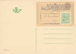 BELGIO - STORIA POSTALE NON VIAGGIATA - BELGIO - INTERO POSTALE F.250 - CARTE-CORRESPONDANCE - Stamped Stationery
