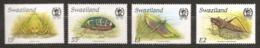 Swaziland 1988 N° 537 / 40 ** Insectes, Coléoptères, Zabalius, Grillon, Phymateus Viridipes, Criquet Nomade, Sauterelle - Swaziland (1968-...)