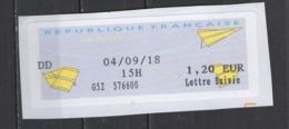 2018  Lettre Suivie - 2000 «Avions En Papier»