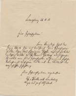 Angelegenheit Seiner Königlichen Hoheit  Herzog Ulrich Von Württemberg,Ludwissburg, 2 Docs, 1913 - Documents Historiques