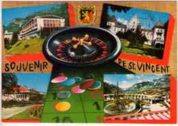 St. Vincent (Ao). Multivisione Con Roulette. VG. - Cartoline