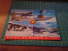150070 Cartolina Di Bormio Funivia - Sondrio
