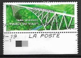 FRANCE    -   2018  .  Viaduc Du Viaur.  Oblitéré.  Train - Adhésifs (autocollants)