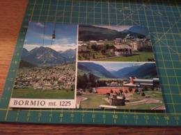 150077 Cartolina  Bormio Funivia - Sondrio