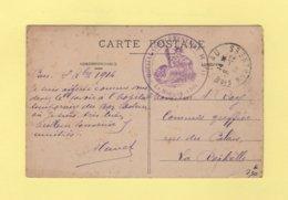 Hopital Complementaire H - Pau - Basses Pyrenees - 1914 - Marcophilie (Lettres)