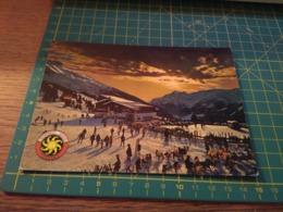 150079 Cartolina  Bormio Sci Ski - Sondrio