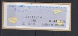 2018  Complément D'affranchissement  Neopost - 2000 «Avions En Papier»