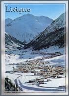 °°° Cartolina - Livigno Panorama Viaggiata °°° - Sondrio