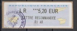 2015  Sarrebourg Lettre Recommandée Avec AR - 2000 «Avions En Papier»