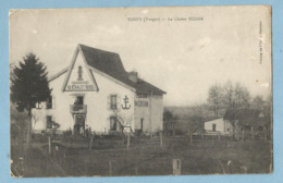 TH0192  CPA   IGNEY (Vosges)  Le Chalet SUISSE  +++++RESTAURANT  FOIN  ECURIE  AVOINE  +++++ - France