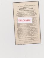DOODSPRENTJE LELOIR AUGUSTE EPOUX DE SAINT-MARTIN ECAUSSINES D'ENGHIEN MAULDE 1868-1945 ECHEVIN Bewerkt Tegen Kopieren - Devotion Images