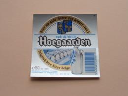 OUD HOEGAARDS BIER Vieille > Bière Belge 25 Cl - 5 % Vol. ( Zie / Voir / See / Zie Foto ) ! - Bière
