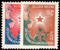 Yugoslavia 1947 Annexation Of Julian Province Unmounted Mint. - 1945-1992 República Federal Socialista De Yugoslavia