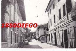 MARTIGNACCO - VIA LUCINIANA F/GRANDE VIAGGIATA 1963 ANIMAZIONE - Udine