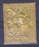 Niger PA 111 Apollo VIII Timbre En Or  Neuf **TB Mnh Cote 27.5 - Níger (1960-...)