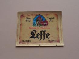 Abbaye De LEFFE Blond / Blonde - Belgisch Bier Bière ( Zie / Voir / See / Zie Foto ) ! - Bière