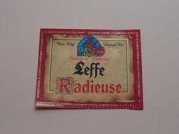 Abbaye De LEFFE RADIEUSE - Belgisch Bier Bière ( Zie / Voir / See / Zie Foto ) ! - Bière