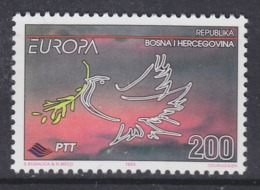 Europa Cept 1995  Bosnia/Herzegovina Sarajevo 1v ** Mnh (45225F) - 1995