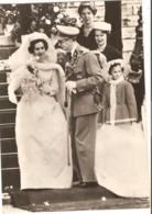 Belgique Le Roi Baudoiun Et La Reine Fabiola ( Carte Photo ) - Personnages Historiques