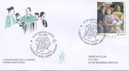 ITALIA - FDC  VENETIA  2006 - ANDREA MANTEGNA - ARTE - VIAGGIATA - ANNULLO SPECIALE - 6. 1946-.. Republic