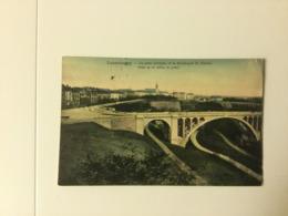 LUXEMBOURG  1908  LE PONT ADOLPHE ET LE BOULEVARD DU VIADUC - Luxemburg - Town