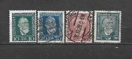 1924 - N. 359/62 USATI (CATALOGO UNIFICATO) - Oblitérés