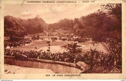 75-PARIS - 1931 - LE PARC ZOOLOGIQUE-N°C-3005-E/0085 - Autres