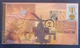 2006 - COVER - WASHINGTON D.C. - DESERT STORME TROOPS PARADE 1991 - Washington DC