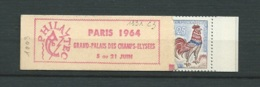 France - Carnet Yvert 1331 - C3 -  8 Timbres  Couverture Philatec - Série : 101- 64  ( Ouvert Mais Complet ) -  Ay 9101 - Carnets