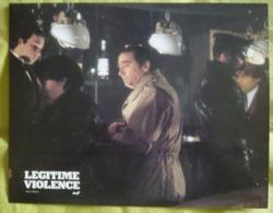 8 Photos Du Film Légitime Violence (1982) - Albums & Collections