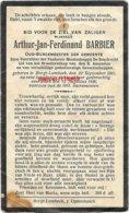 Barbier Arthur  1861/1930- Oud Burgemeester Van  Borchtlombeek - Images Religieuses
