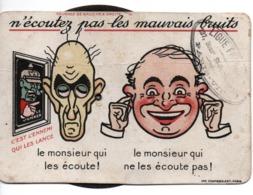 CARTE SYSTEME PROPAGANDE ANTI ALLEMANDE N ECOUTE PAS LE BOCHE GUERRE 1914 1918 - 1914-18