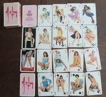 Jeu De 54 Cartes à Jouer Aslan Femme Pin Up Nues éditions Rombaldi En Boite Neuf Parfait état - Speelkaarten