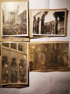 Phse01  Photo St Demeter Salonique Avant Et Après Incendie 1917 (2 Photos Avant Signé JB Format Carte Postale Et 2 Photo - 1914-18