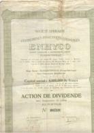"""Soc. Africaine D'Entreprises Hygiéniques Colonial """"ENHYCO"""" - Afrika"""