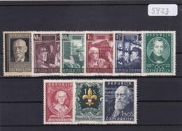 Österreich, Kpl. Jahrgang 1951** (K 5423) - Full Years